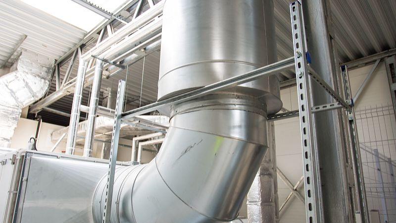 通风管道漏风量的测定、焊接管的组装